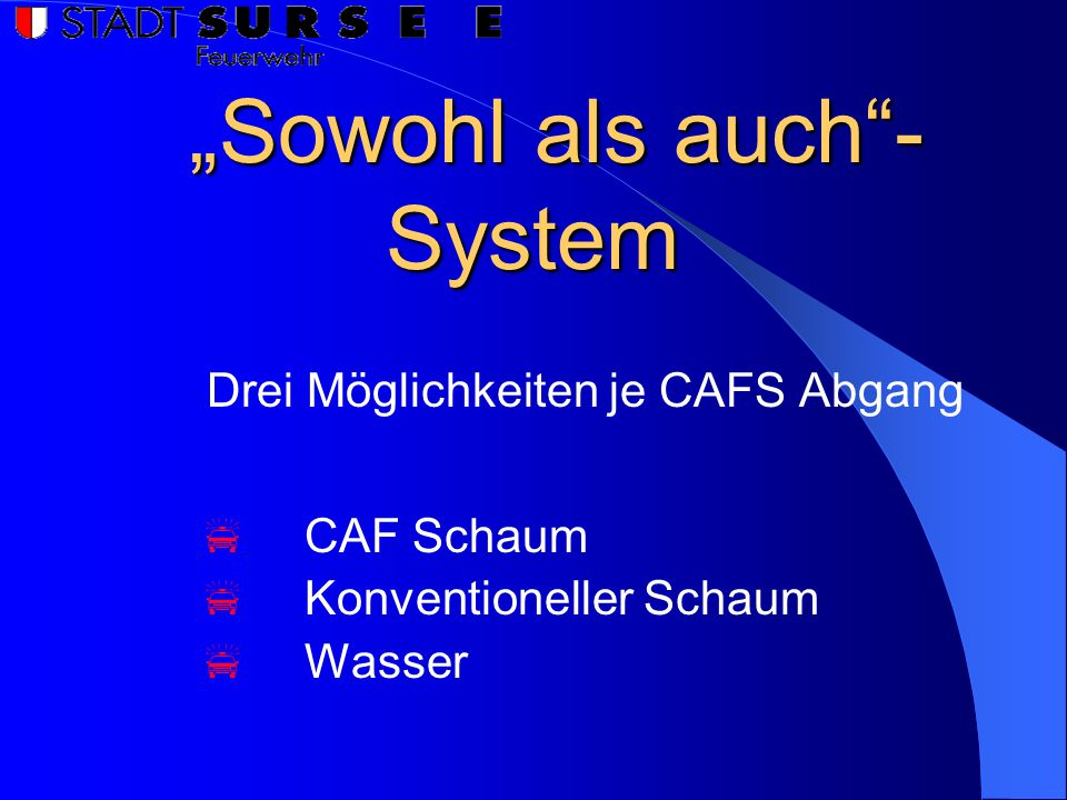 """Sowohl als auch - System"