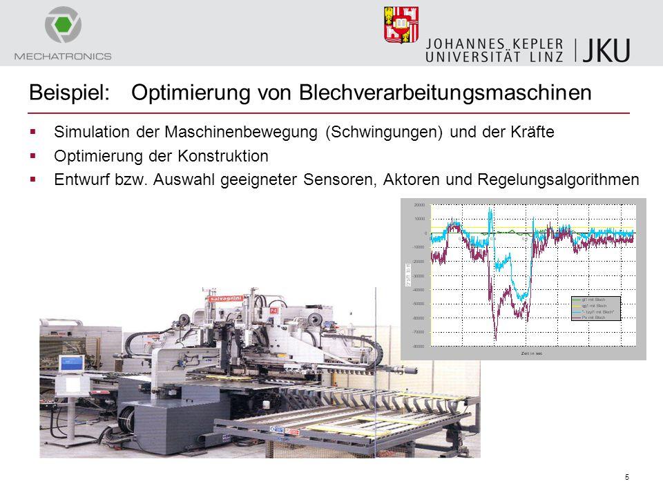 Beispiel: Optimierung von Blechverarbeitungsmaschinen