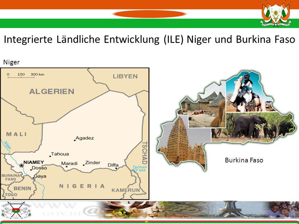 Integrierte Ländliche Entwicklung (ILE) Niger und Burkina Faso
