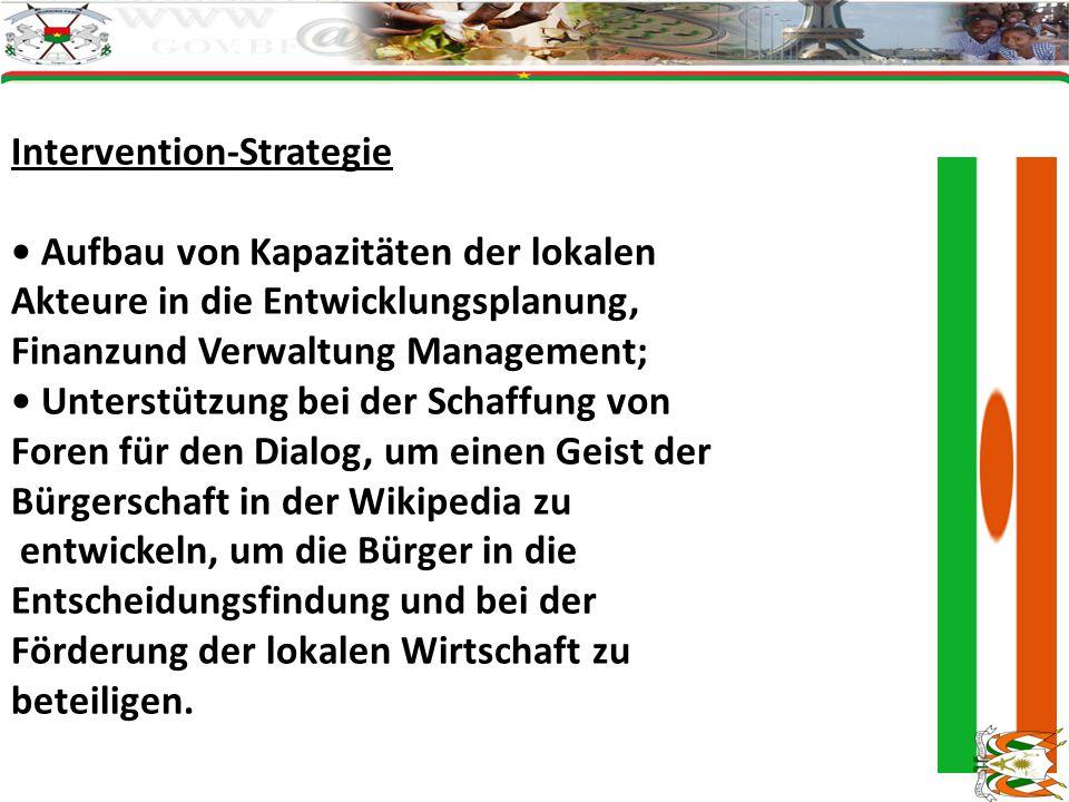 Intervention-Strategie