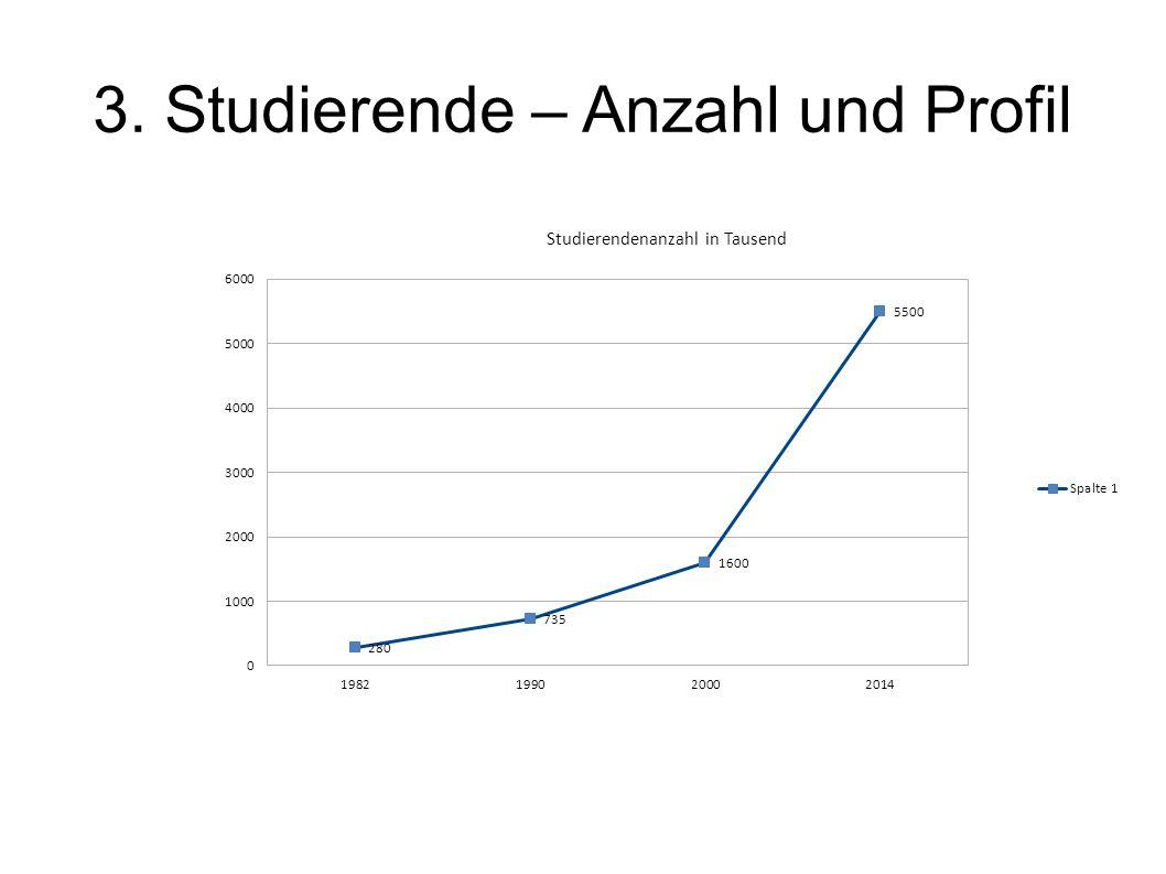 3. Studierende – Anzahl und Profil