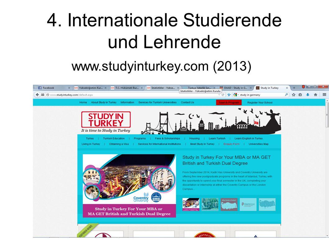 4. Internationale Studierende und Lehrende