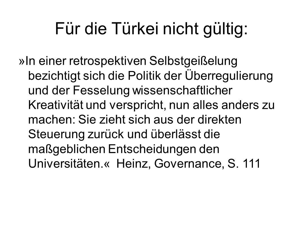 Für die Türkei nicht gültig: