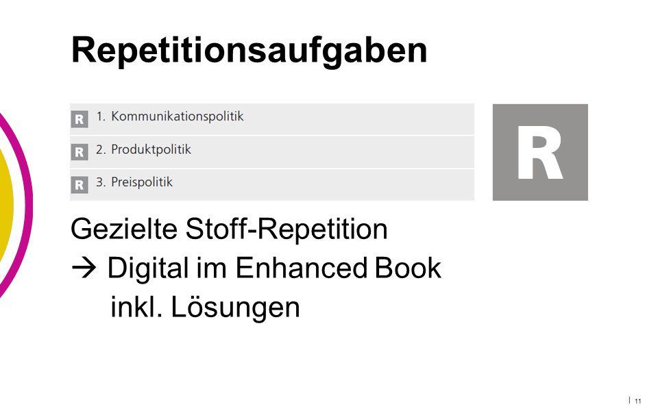 Repetitionsaufgaben Gezielte Stoff-Repetition  Digital im Enhanced Book inkl. Lösungen