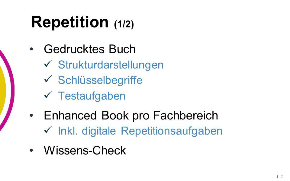 Repetition (1/2) Gedrucktes Buch Enhanced Book pro Fachbereich