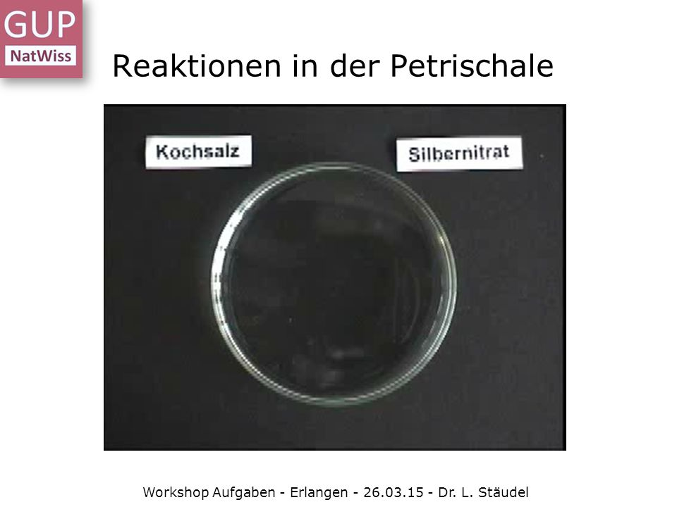Reaktionen in der Petrischale