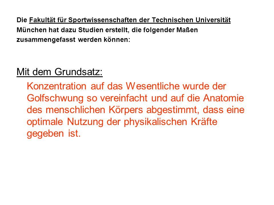 Die Fakultät für Sportwissenschaften der Technischen Universität