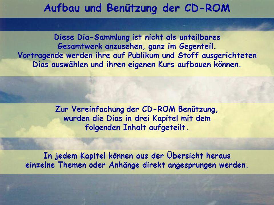 Aufbau und Benützung der CD-ROM