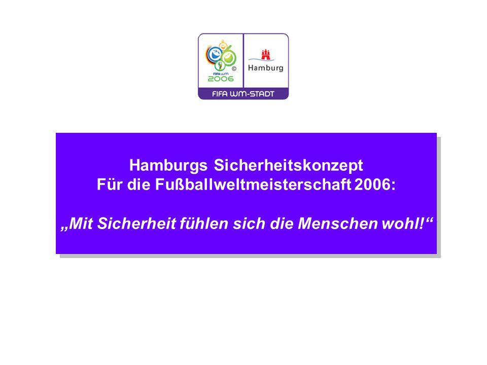 Hamburgs Sicherheitskonzept Für die Fußballweltmeisterschaft 2006: