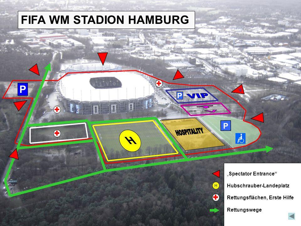 VIP TV HOSPITALITY FIFA WM STADION HAMBURG P P P V