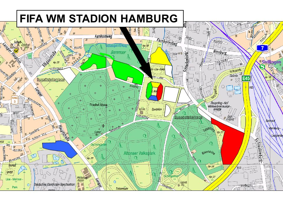 FIFA WM STADION HAMBURG