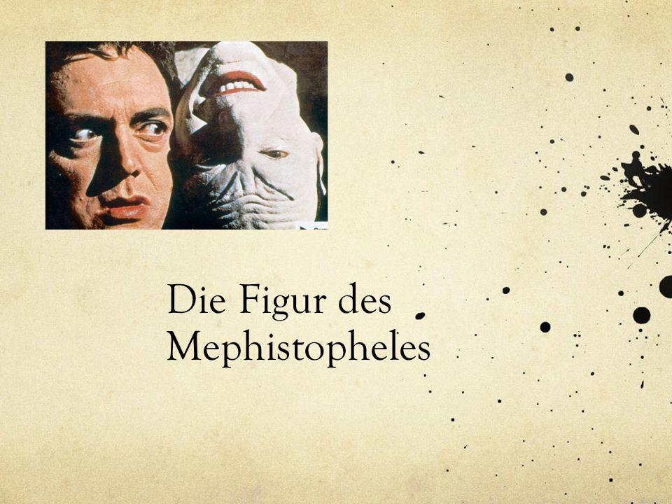 Die Figur des Mephistopheles
