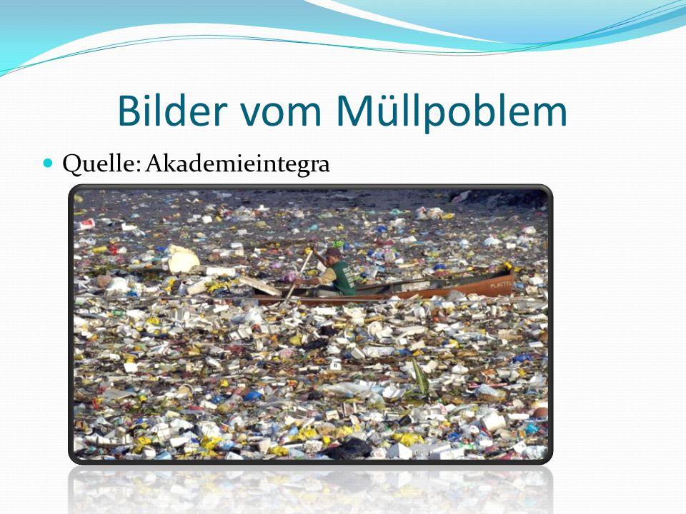 Bilder vom Müllpoblem Quelle: Akademieintegra