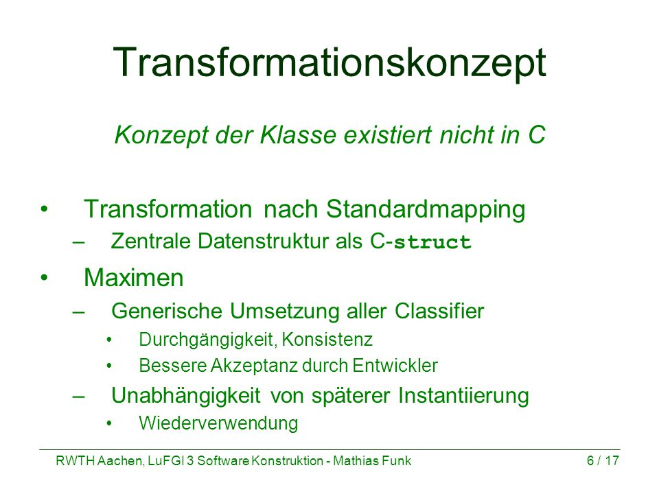 Transformationskonzept
