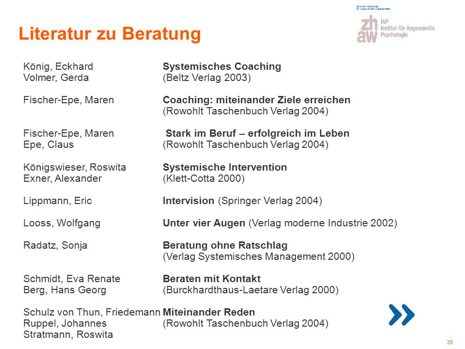 Literatur zu Beratung König, Eckhard Systemisches Coaching