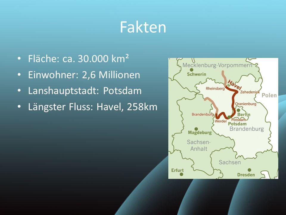 Fakten Fläche: ca. 30.000 km² Einwohner: 2,6 Millionen