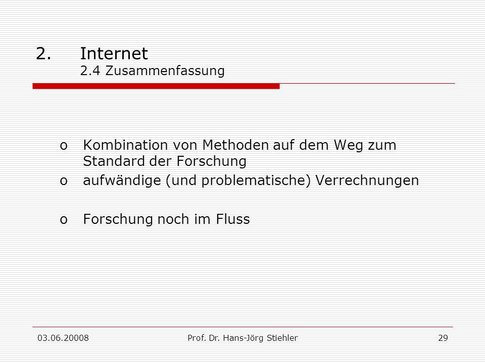 2. Internet 2.4 Zusammenfassung