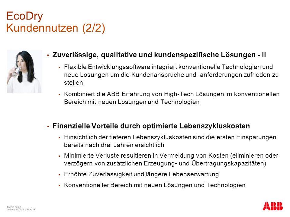 EcoDry Kundennutzen (2/2)