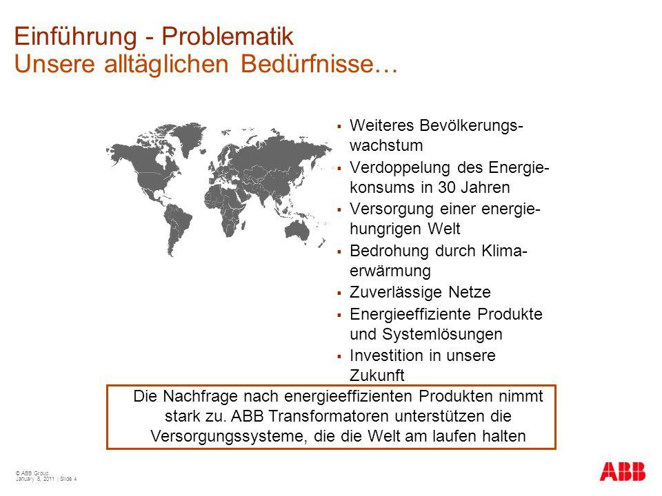 Einführung - Problematik Unsere alltäglichen Bedürfnisse…