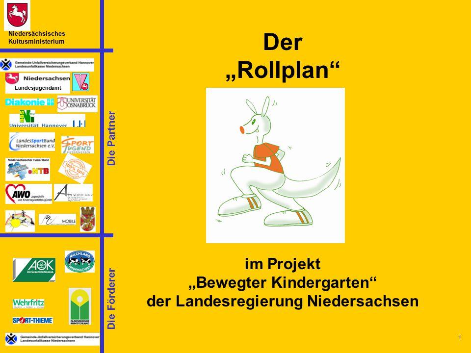 """""""Bewegter Kindergarten der Landesregierung Niedersachsen"""