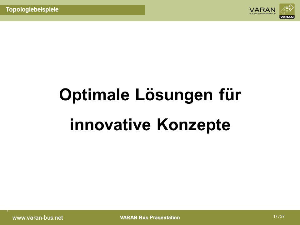 Optimale Lösungen für innovative Konzepte