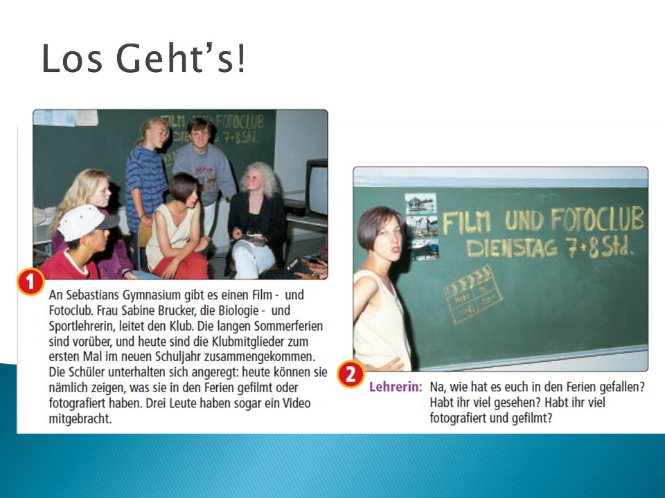 Los Geht's!