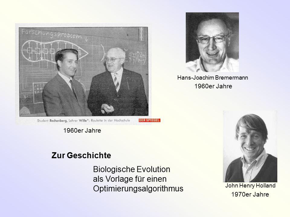 Biologische Evolution als Vorlage für einen Optimierungsalgorithmus