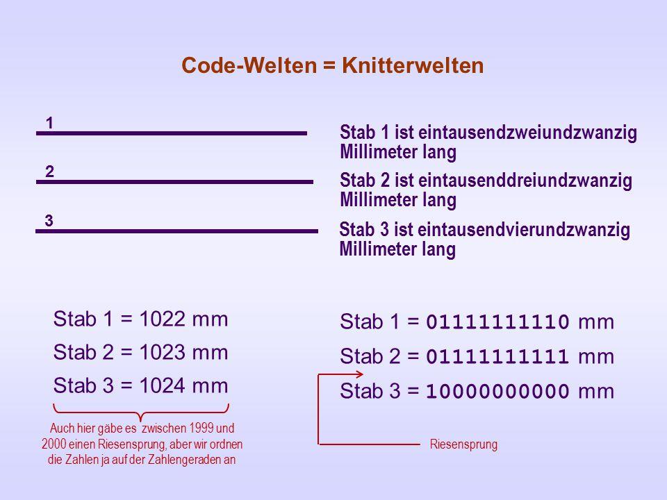 Code-Welten = Knitterwelten