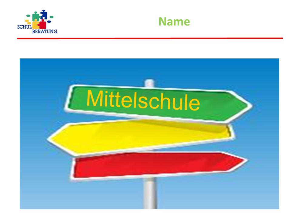 Name Mittelschule
