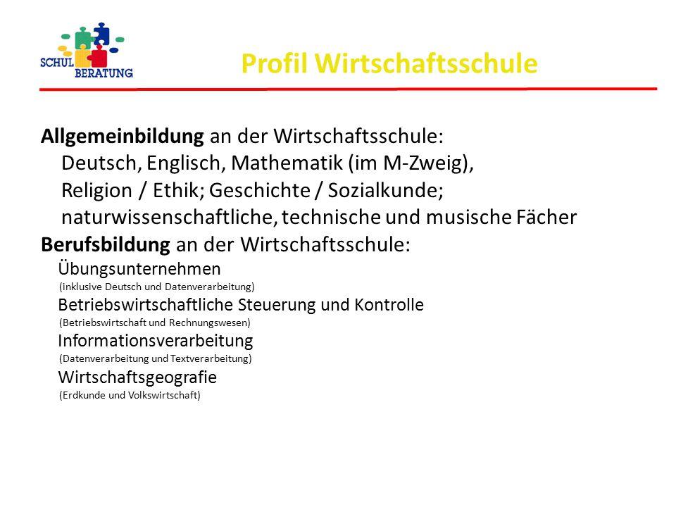 Profil Wirtschaftsschule