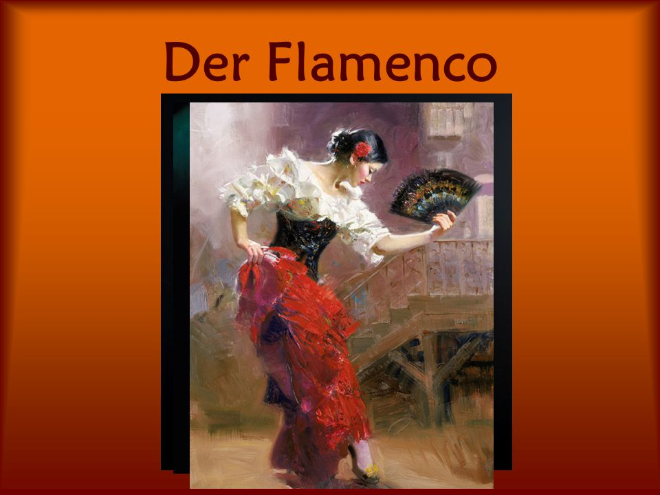 Der Flamenco Click to edit Master text styles Third level Fourth level