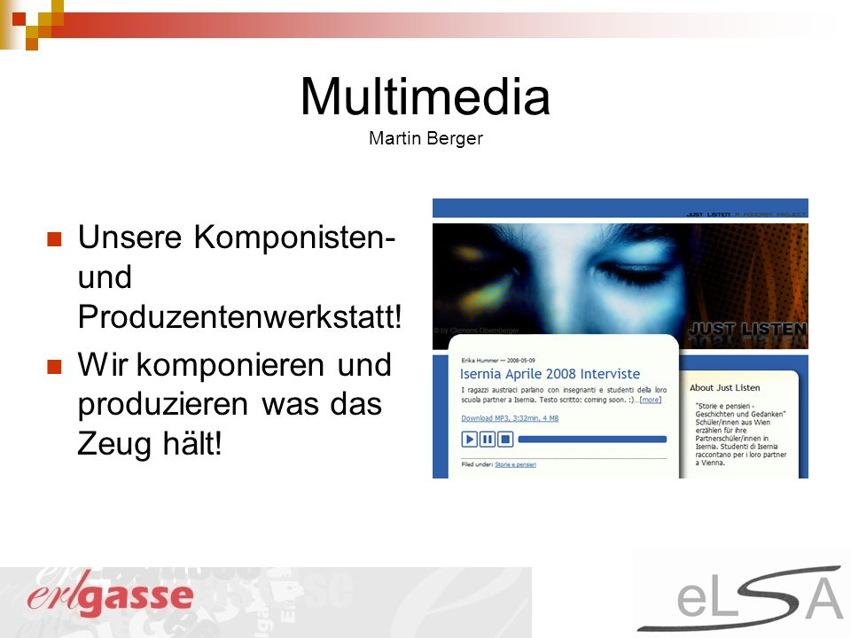 Multimedia Martin Berger