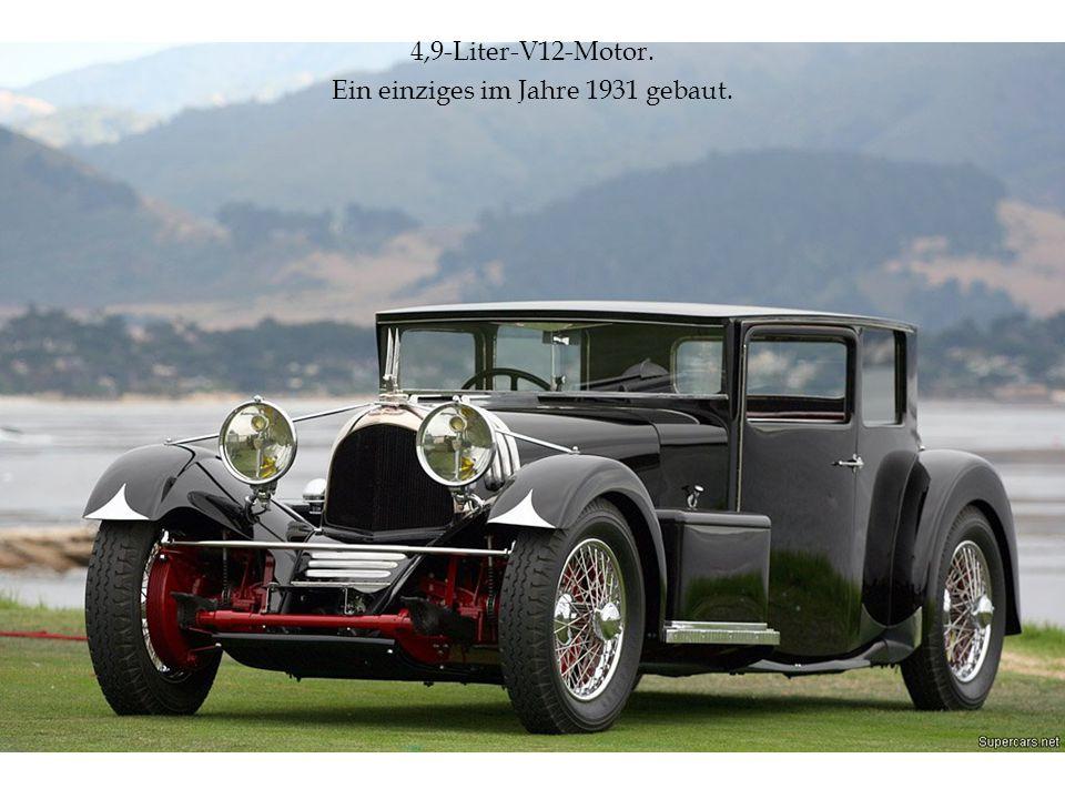 Ein einziges im Jahre 1931 gebaut.