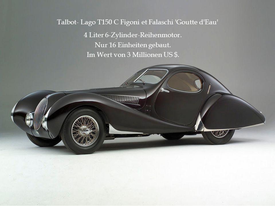 Talbot- Lago T150 C Figoni et Falaschi Goutte d Eau