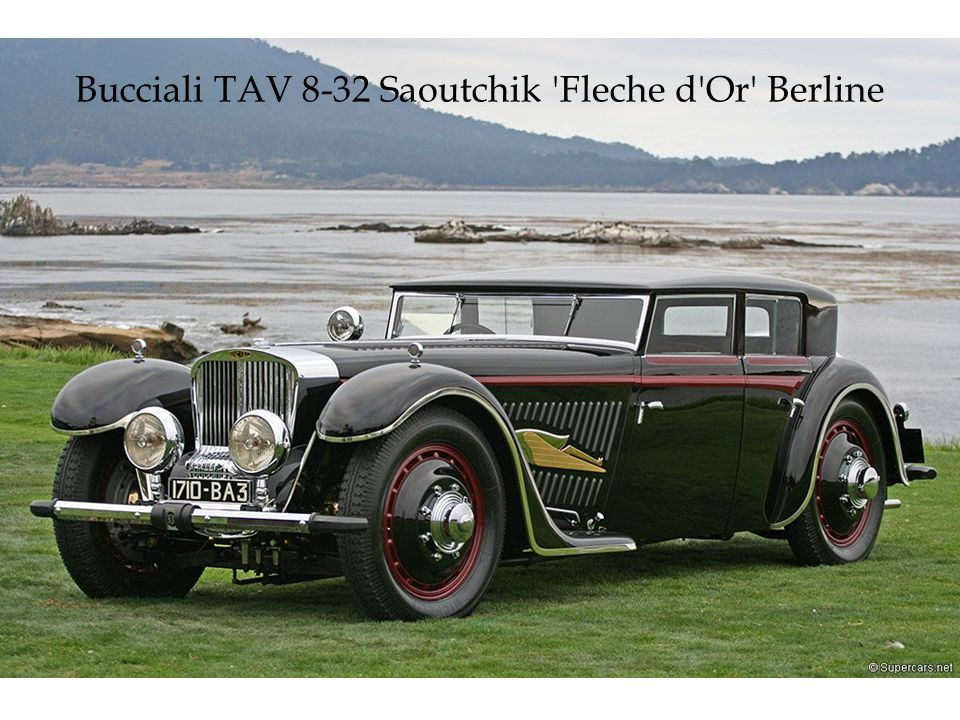 Bucciali TAV 8-32 Saoutchik Fleche d Or Berline