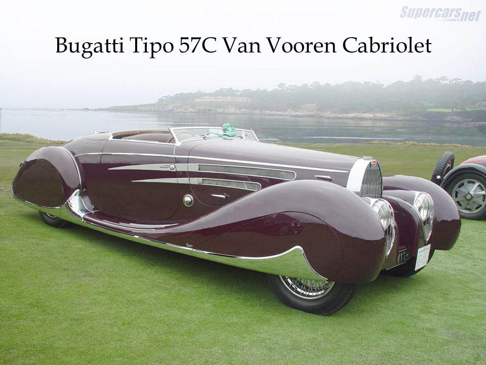 Bugatti Tipo 57C Van Vooren Cabriolet