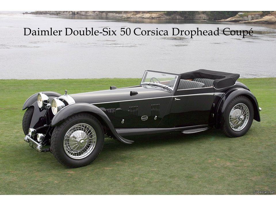 Daimler Double-Six 50 Corsica Drophead Coupé
