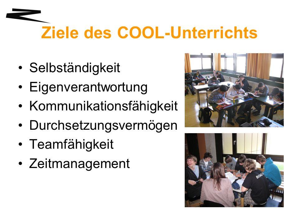 Ziele des COOL-Unterrichts