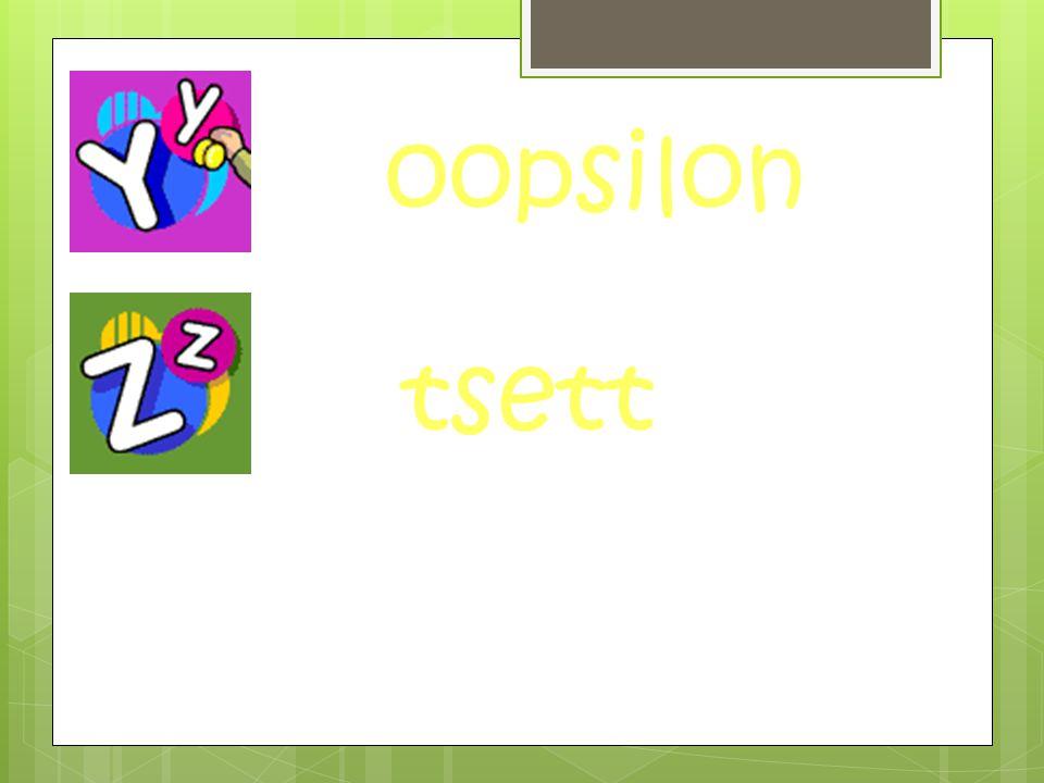 oopsilon tsett