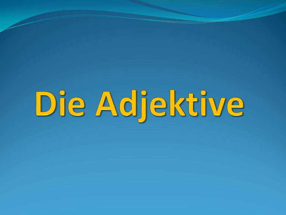 Die Adjektive