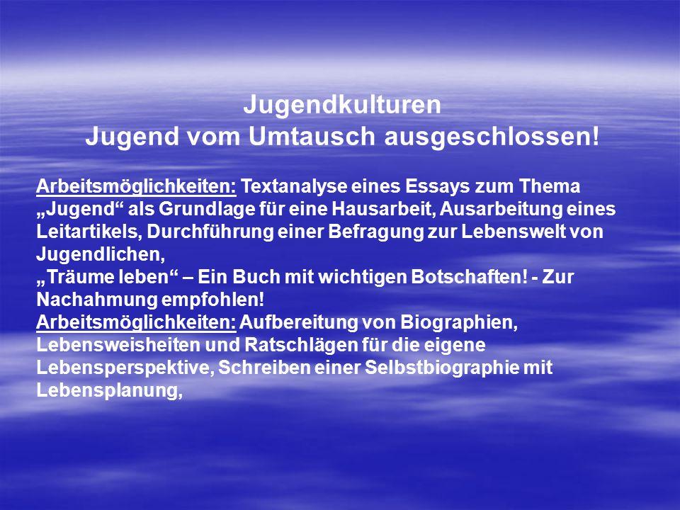 Jugend vom Umtausch ausgeschlossen!