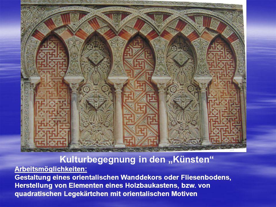 "Kulturbegegnung in den ""Künsten"
