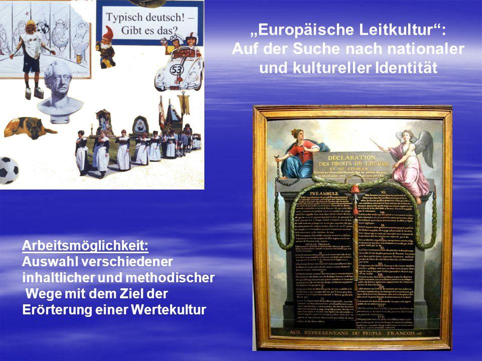 Auf der Suche nach nationaler und kultureller Identität