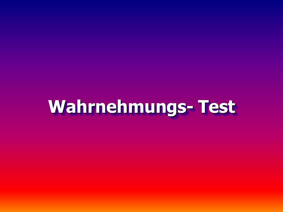 Wahrnehmungs- Test