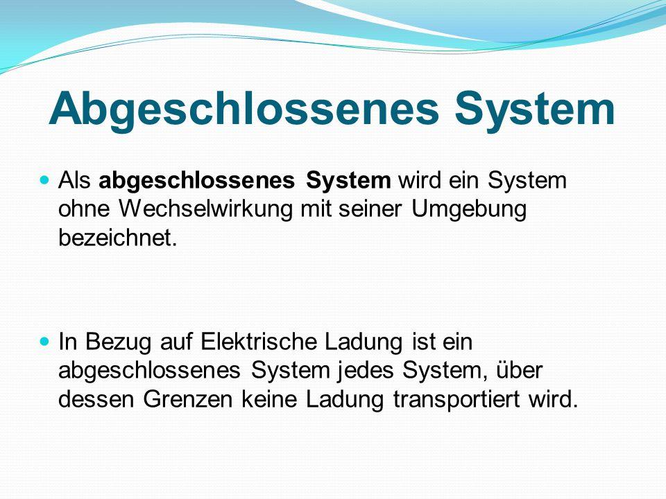 Abgeschlossenes System