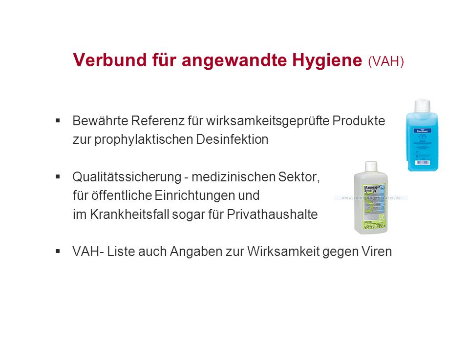 Verbund für angewandte Hygiene (VAH)