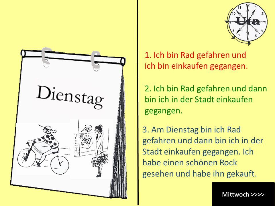 Mittwoch >>>>