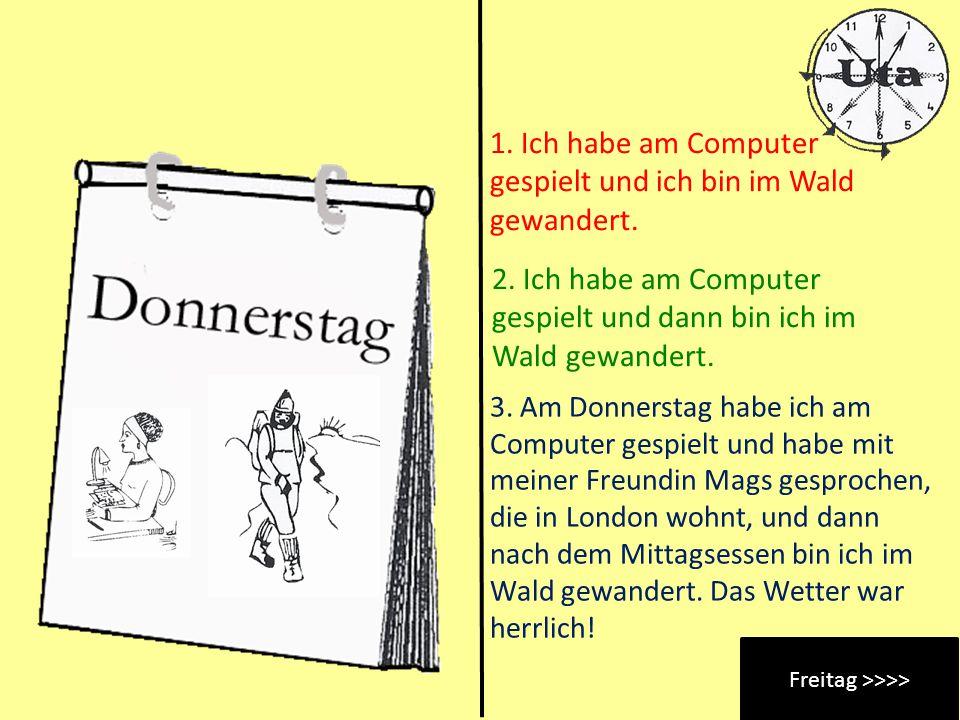 Freitag >>>>