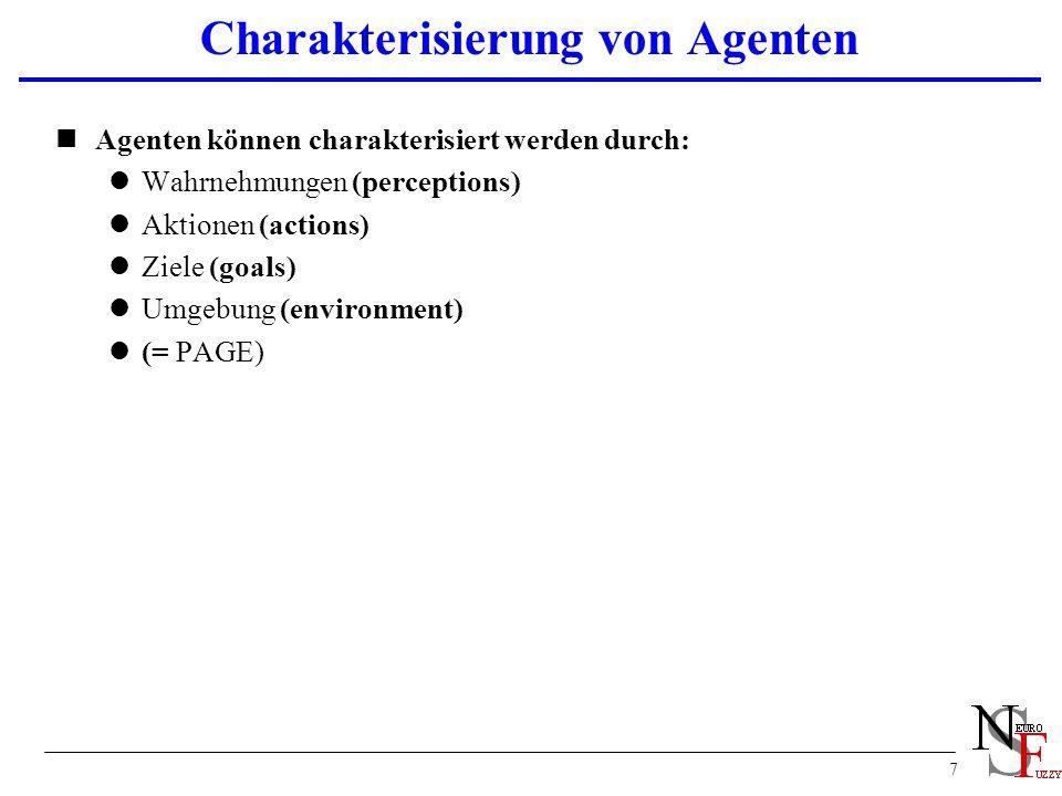 Charakterisierung von Agenten