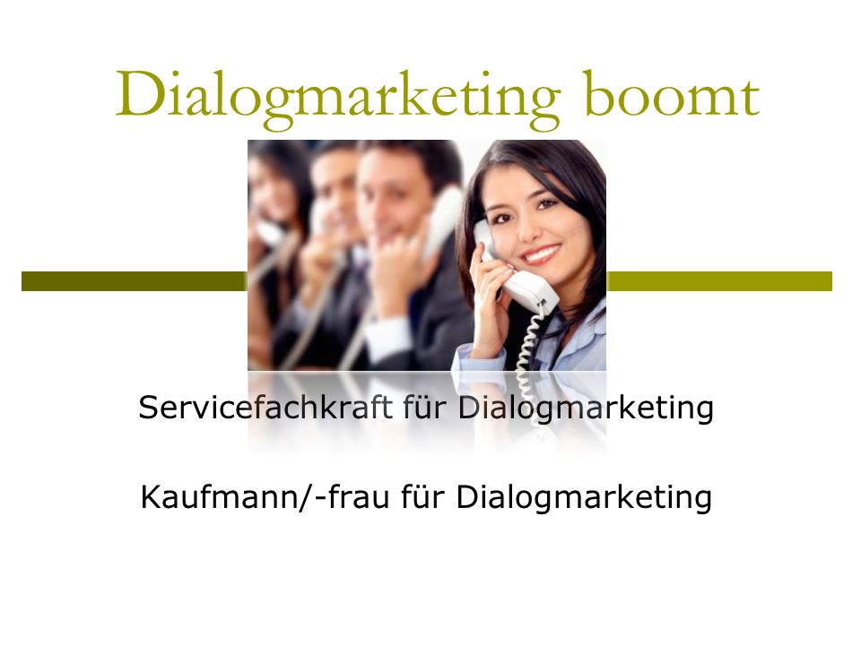 Dialogmarketing boomt